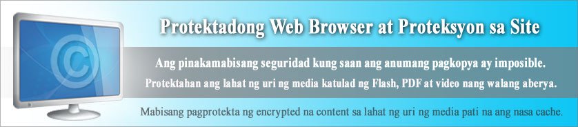 Proteksyon at Seguridad ng Website at Web Browser Para sa Lahat ng Uri ng Media